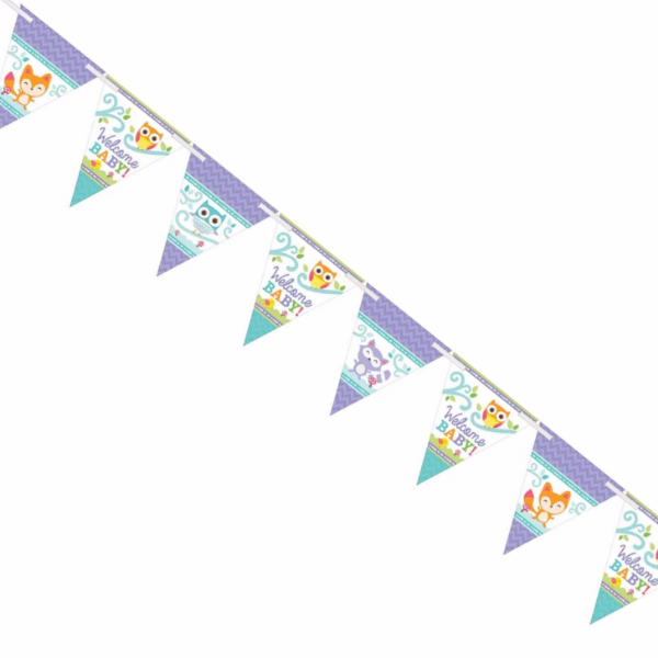 Woodland Welcome Pennant Bunting